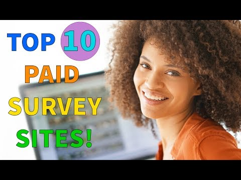 Top 10 Paid Online Survey Sites That Pay You Cash! (REAL MONEY!)