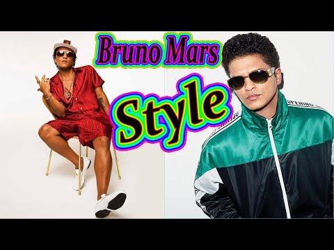 Bruno Mars Style. Bruno Mars Clothes. Bruno Mars's Fashion Style