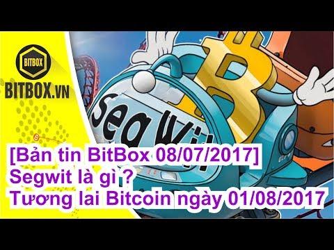 |BitBox| Bản tin BitBox 08/07/2017 - Segwit là gì ? - Tương lai Bitcoin ngày 01/08/2017