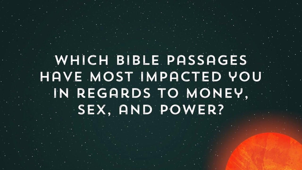 Sex money the bibles shows you