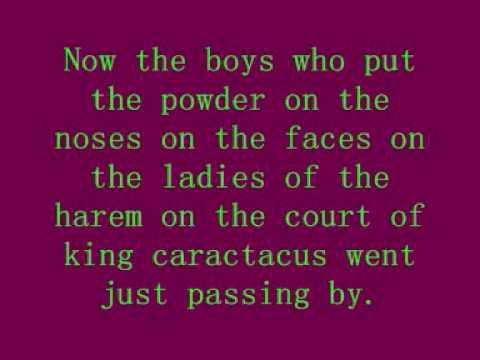 Court of king caractacus - Rolf Harris