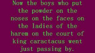 Court of king caractacus - Rolf Harris