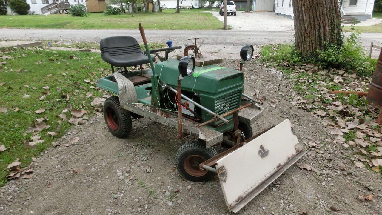DIY Electric Lawn Tractor part 12: Moving Gravel - YouTube