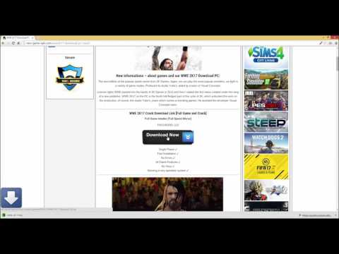 Download WWE 2K17 Crack CPY / 3DM / SKIDROW Free Full PC Game