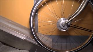 Falco VeloComfort Automated Cycle Wheel Ramp Video V2