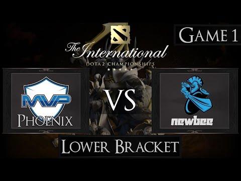 Dota 2 The International 2015 MVP Phoenix vs Newbee