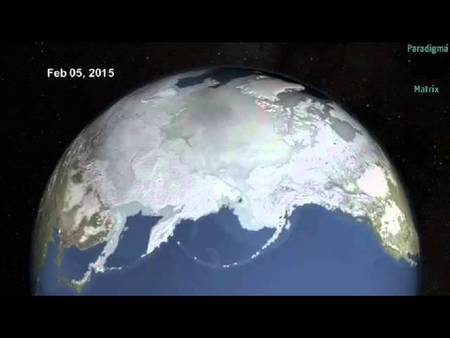 Superfície gelada do Ártico no inverno alcança mínimo histórico