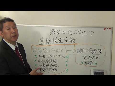 NHKから国民を守る党が目指す直接民主主義について