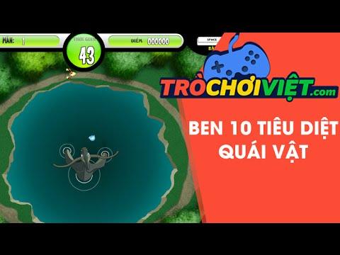 Game Ben 10 tiêu diệt quái vật - Video hướng dẫn cách chơi game