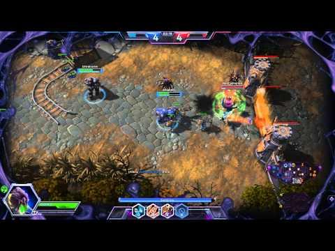 Heroes of The Storm - LIVE Abathur - Maestro de la evolución EP 5