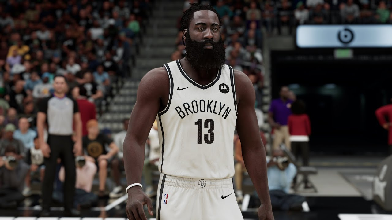 NBA 2K21 - James Harden Traded to Brooklyn Nets   Lakers vs Nets Full Match  (PS5) - YouTube