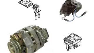 видео Устройство и работа автомобильного генератора