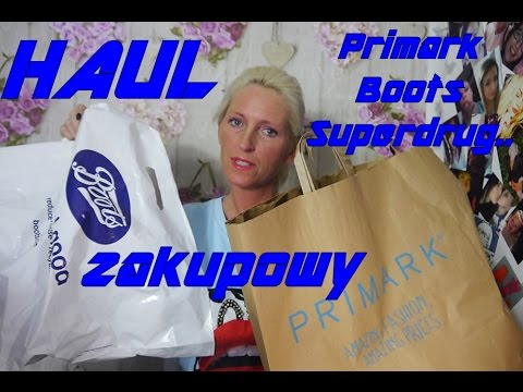 HAUL 🛍NOWOSCI z  Boots,Superdrug, Primark🛍