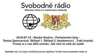 2018-07-14 - Studio Kladno - Parlamentní listy - Tereza Spencerová: Skřípal 1
