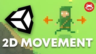 Unity Character Movement and Animation in 2D with Sprite Sheet - Tutorial