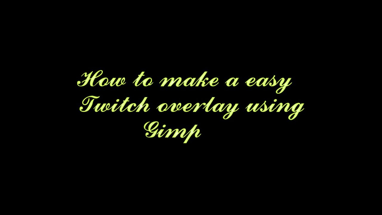 twitch how to make a video