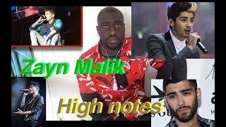 Zayn Malik Best Vocals High Notes reaction