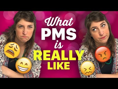 What PMS Is Really Like  Mayim Bialik
