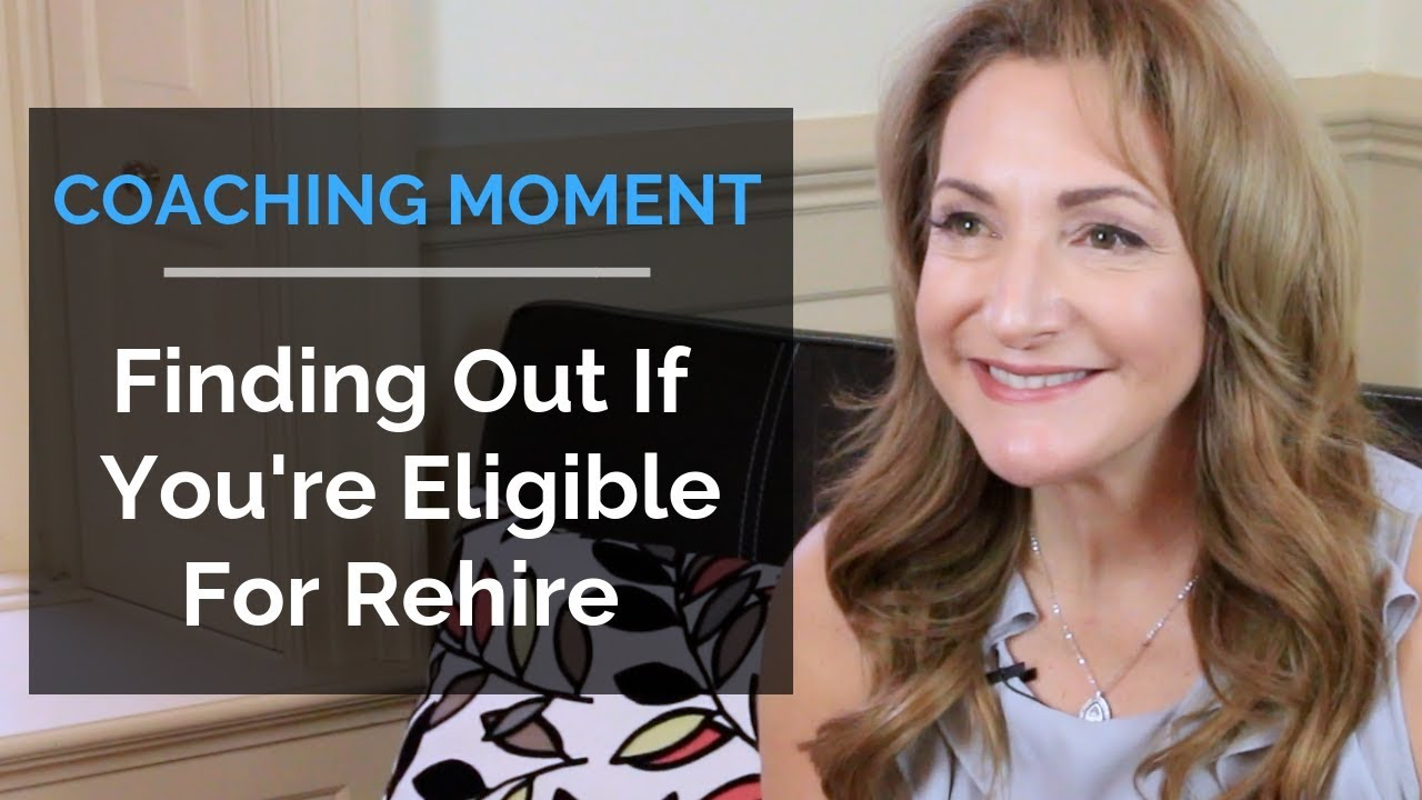 Finding Out If You're Eligible For Rehire