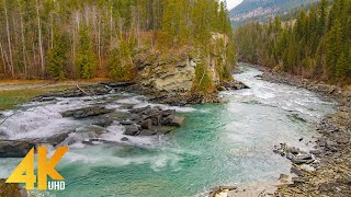 4K Best Scenic Naтure Places of Canada - Stunning Rivers - Relax Video with Nature Sounds - Part #1
