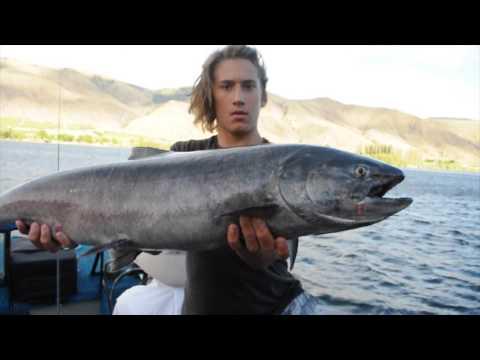 AMERICA TRIP KING SALMON FISHING IN THE COLUMBIA RIVER