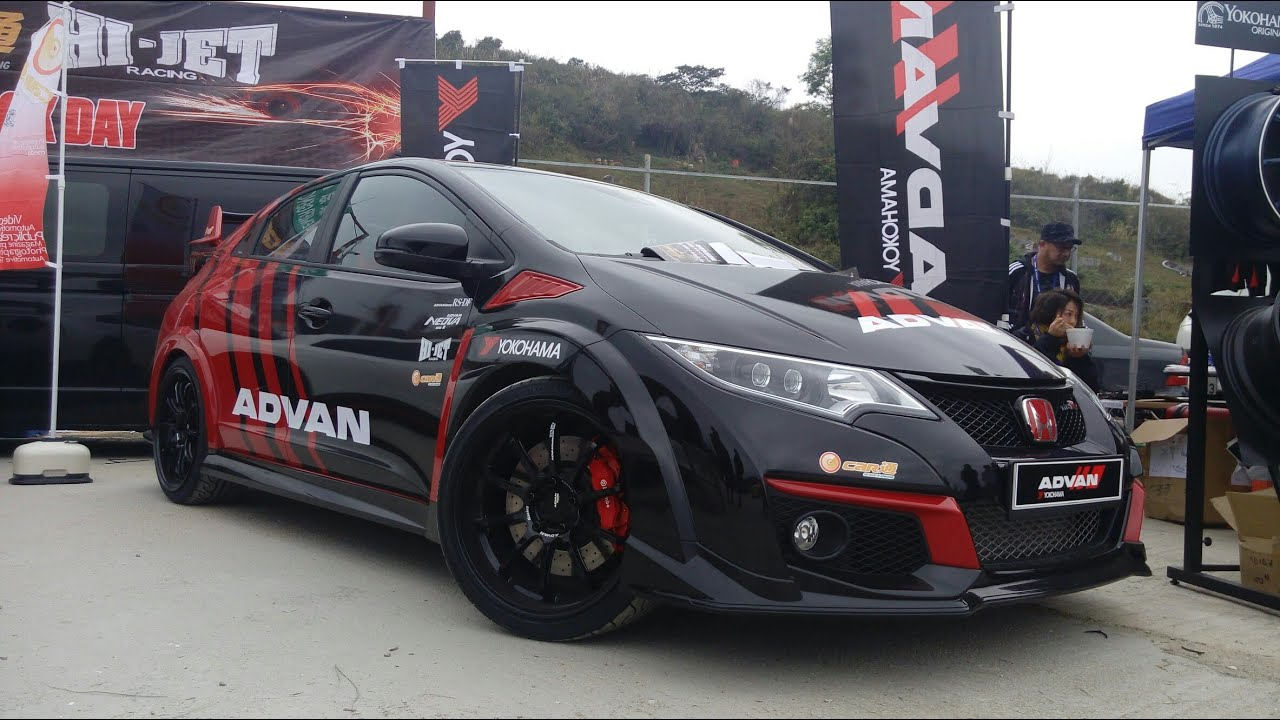 advan honda civic type r fk2 with k20c youtube. Black Bedroom Furniture Sets. Home Design Ideas