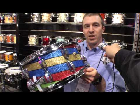 2014 Winter NAMM Ludwig 'Twisted Salesmen' Maple Snare Drum