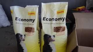 Обзор корма для собак - Josera Economy 20kg(Ссылка на товар - http://rozetka.com.ua/josera_j212003/p2315252/ Подписываемся на канал ..., 2016-07-04T20:39:24.000Z)
