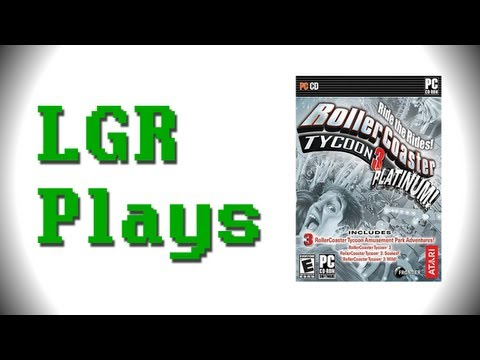 LGR Plays - Roller Coaster Tycoon 3