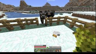 Minecraft How to herd and breed animals. (Farming EP2)