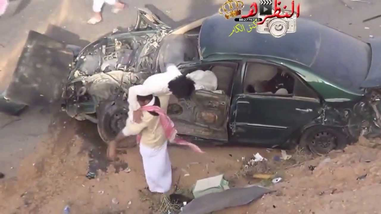 Ouch! Arab Drifting and crashes. - YouTube