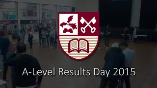 Hertswood Academy A Level Results Day 2015