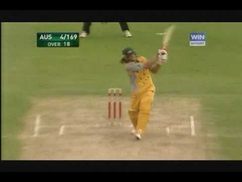 Andrew Symonds 85 Not Out v New Zealand