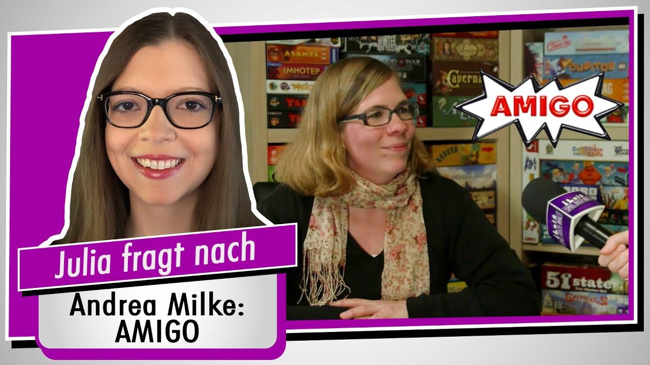 SPIEL 2021 - Amigo im Interview (Andrea Milke) - Spiel doch mal! Neuheiten