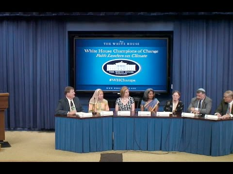 White House Champions of Change - Faith Leaders for Climate