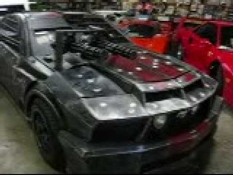 New Death Race Movie Mustang Rusty Tv And Movie Car Museum Youtube