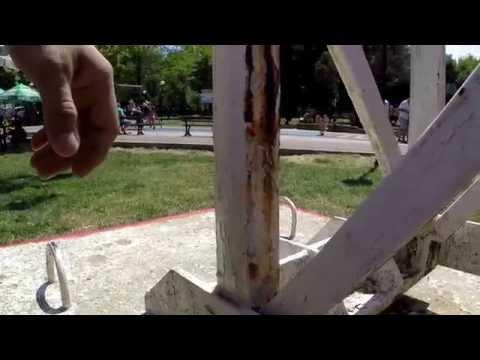 Что будет, если забыть сделать дренажное отверстие в металлоконструкции
