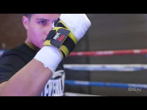 Piq Robot Blue Wearables Bring High-tech To Boxer's Training