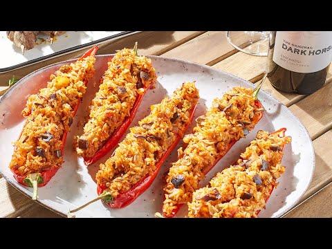 recette-–-poivrons-doux-pointus-farcis-à-l'aubergine-et-à-la-tomate-–-colruyt