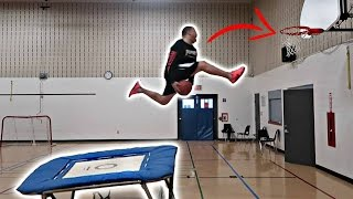 THE YOUTUBE TRAMPOLINE DUNK CONTEST!!