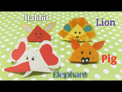 4 DIY Cute Animal Hat , How to make miniature Animal Hat For Family , Easy Paper Crafts