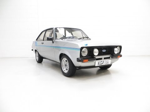 c128fe475 A Rare and Club Registered Ford Escort Mk2 Harrier 1/500 Made in ...