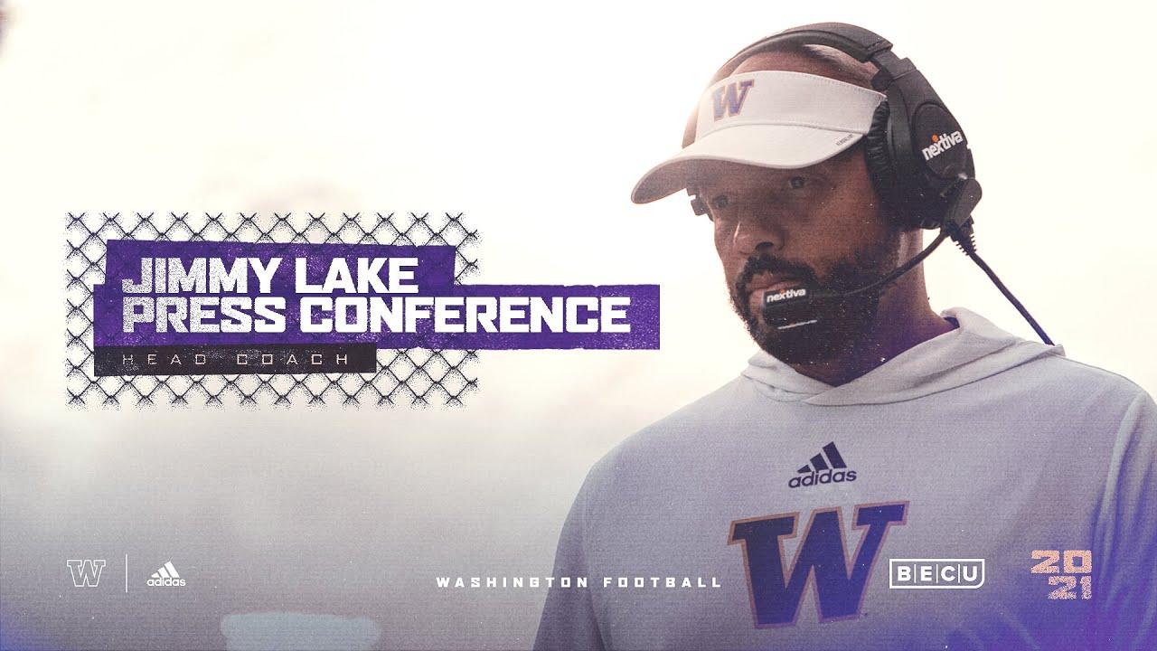What Washington coach Jimmy Lake said about Michigan football ...