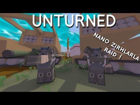 Unturned   NANO ZIRHLARLA BASE RAID ! (Roleplay Survival) thumbnail