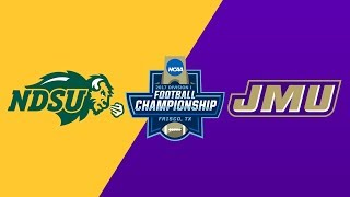 #2 North Dakota St. vs. #1 JMU | 2017 FCS National Championship Highlights