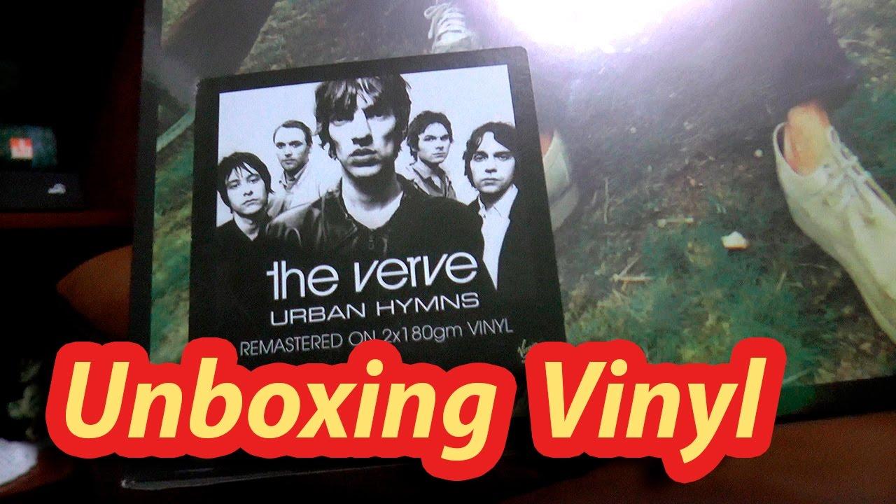 Unboxing Urban Hymns Vinyl The Verve Youtube