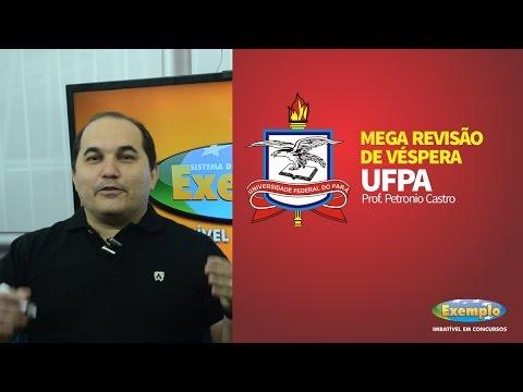 Mega Revisão de Véspera - Concurso UFPA - Curso Exemplo - Petronio Castro