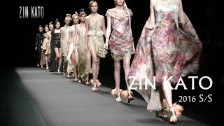 -1930's GORGEOUSNESS- ZIN KATO 2016 S/S|Fashion Week   TOKYO