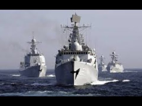 "Breaking: ""China Sends 40 Navy Ships"" Vows Bloody Battle For World Domination"