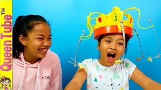 สุดฮา😂😂น้องควีน กินพริก🌶 เล่นเกม ใครคือจ้าวแห่งการงับ?!! | Chow Crown Challenge | QueenTubeTH ✔︎